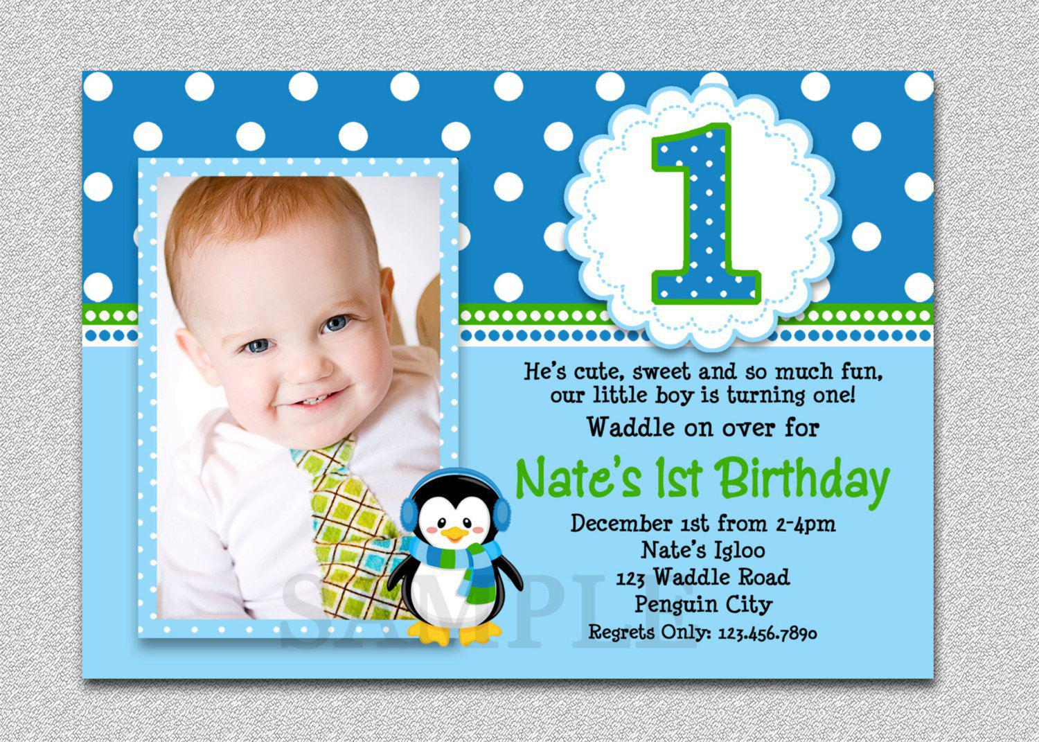 First Birthday Invitations For Kids Birhday Invites Create