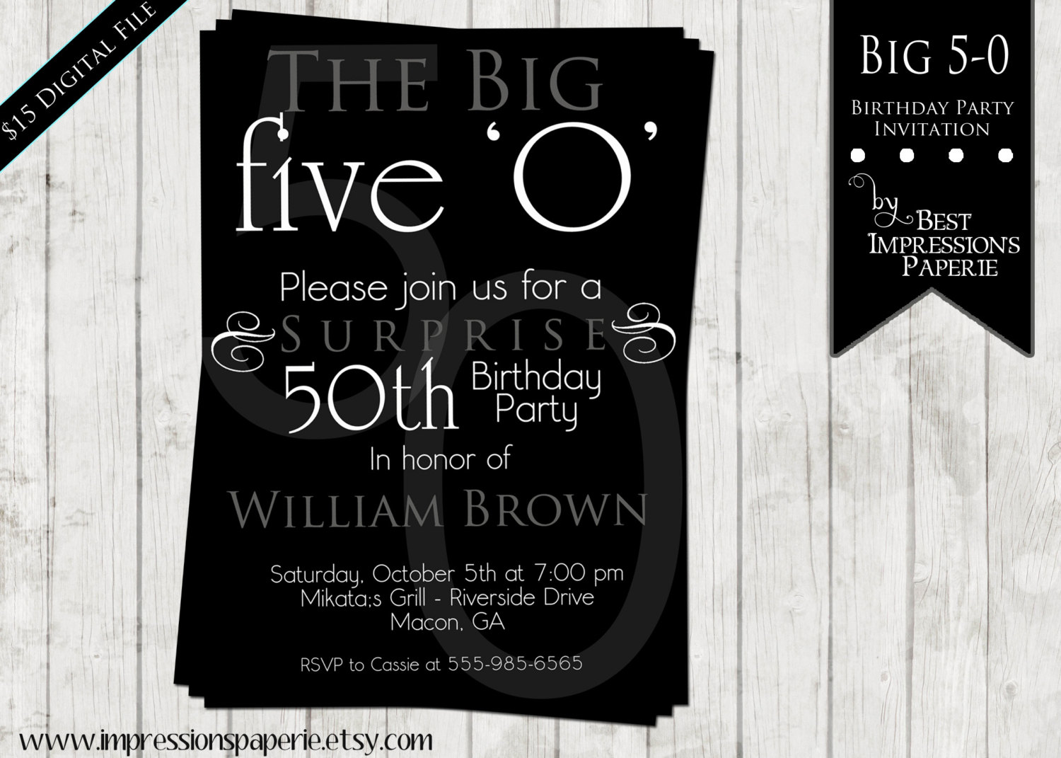 Fine Turning 50 Invitation Wording About Inspiration Birthday