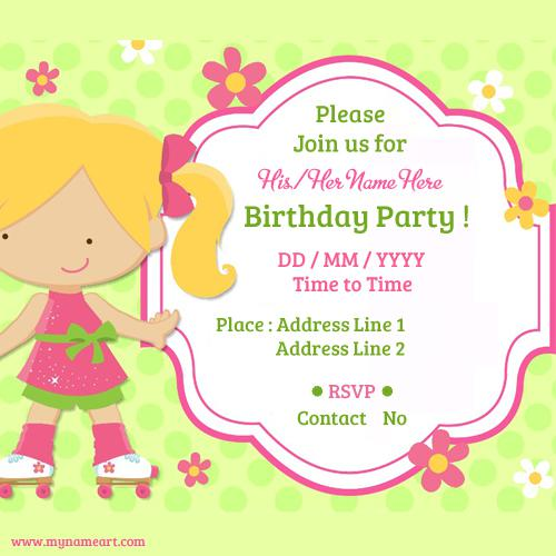 20+ Birthday Invitations Cards