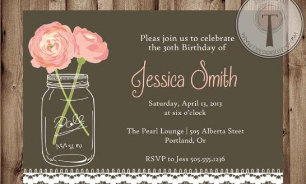 10 Elegant Birthday Invitations Ideas Wording Samples