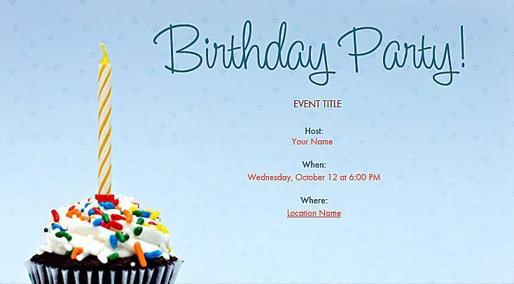 birthday party invitations templates | best review birthday, Birthday invitations