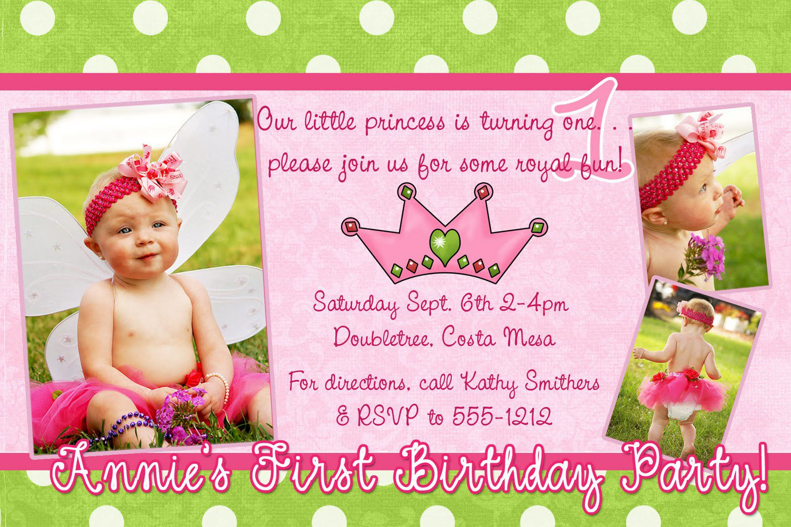 Girl Birthday Invitation Wording