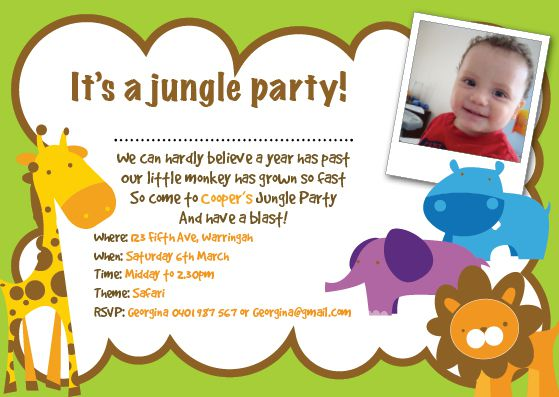 Kids Birthday Invitation Cards orderecigsjuiceinfo – Sample Kids Birthday Invitation