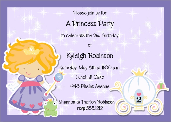 Kids Birthday Invitation Wording That We Can Make Sample - Birthday invitation jingles