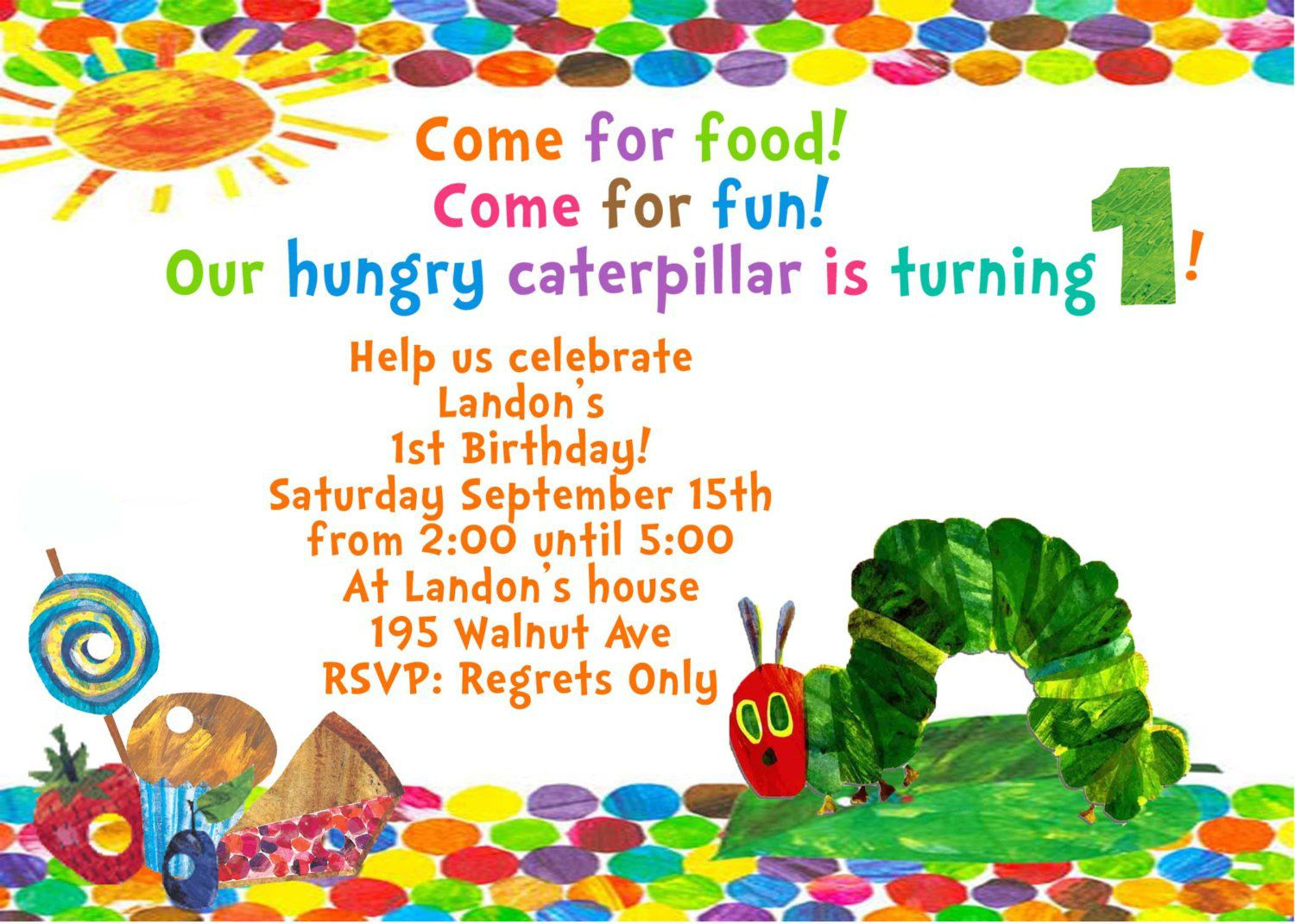 Child Birthday Invitation Card