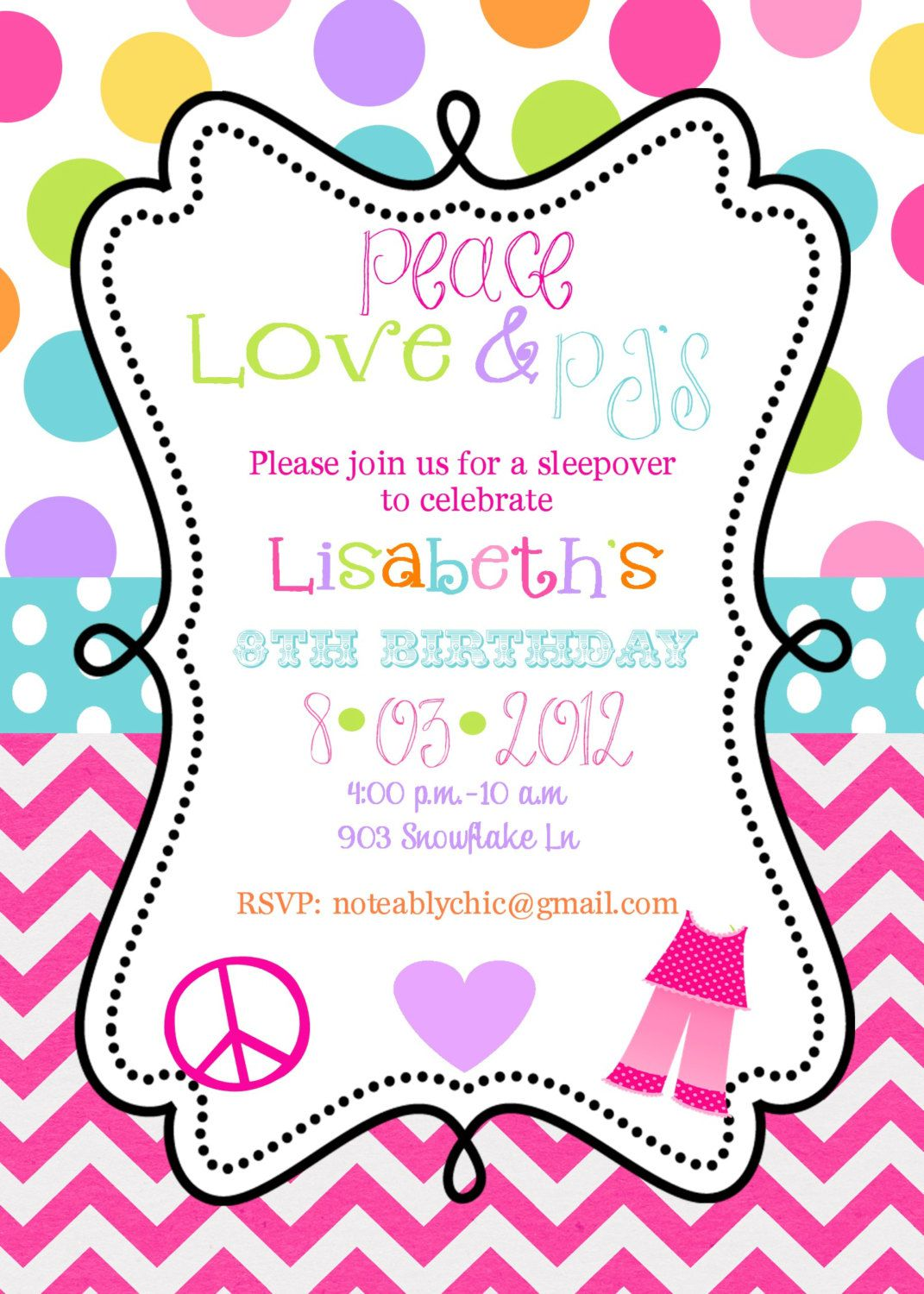 Email Princess Birthday Invitations