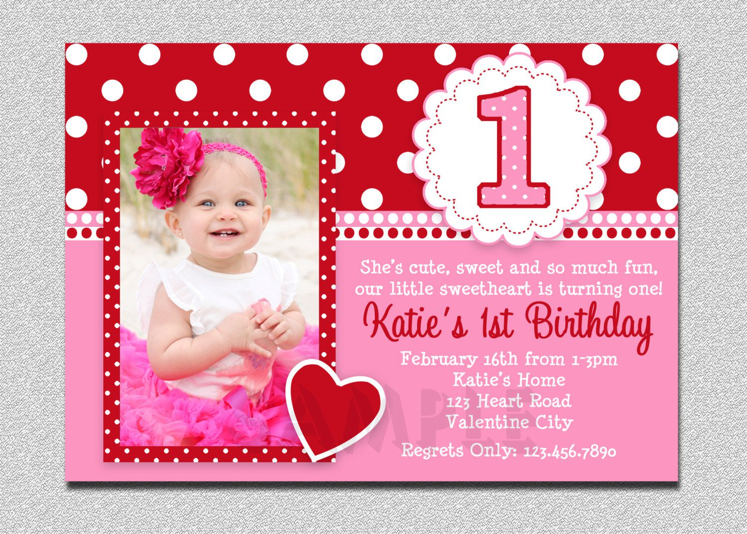 Examples Of Email Birthday Invitations