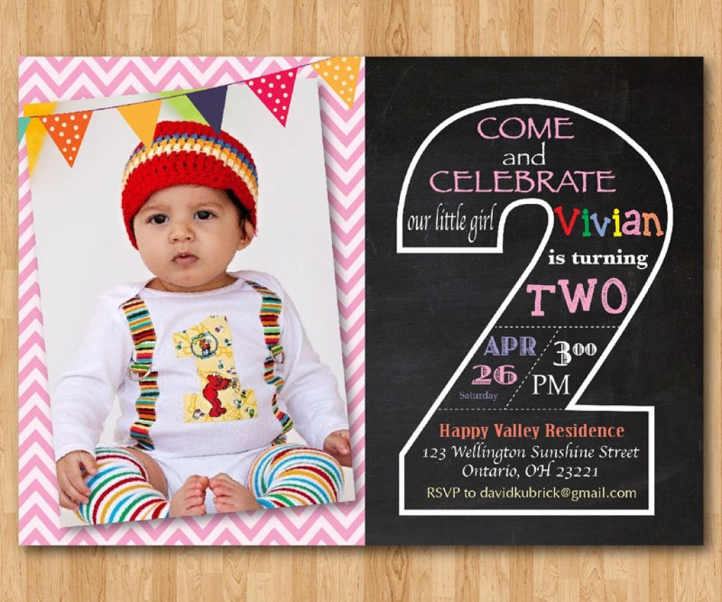 2nd Birthday Invitations Ideas