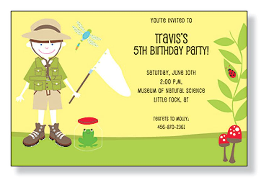 Birthday Invitations Cards Ideas