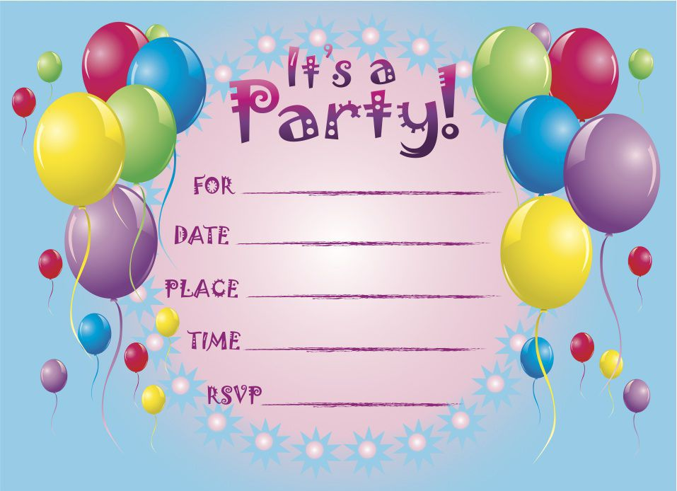 Birthday Invitations Ideas Pinterest