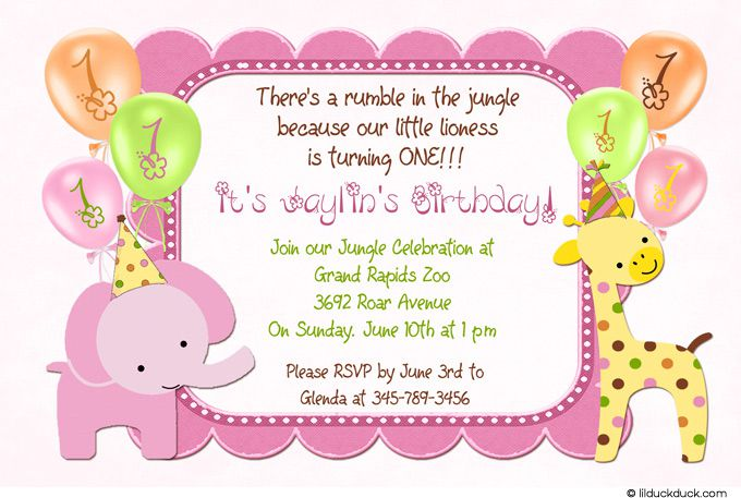 Birthday Invitations Scrapbooking Ideas