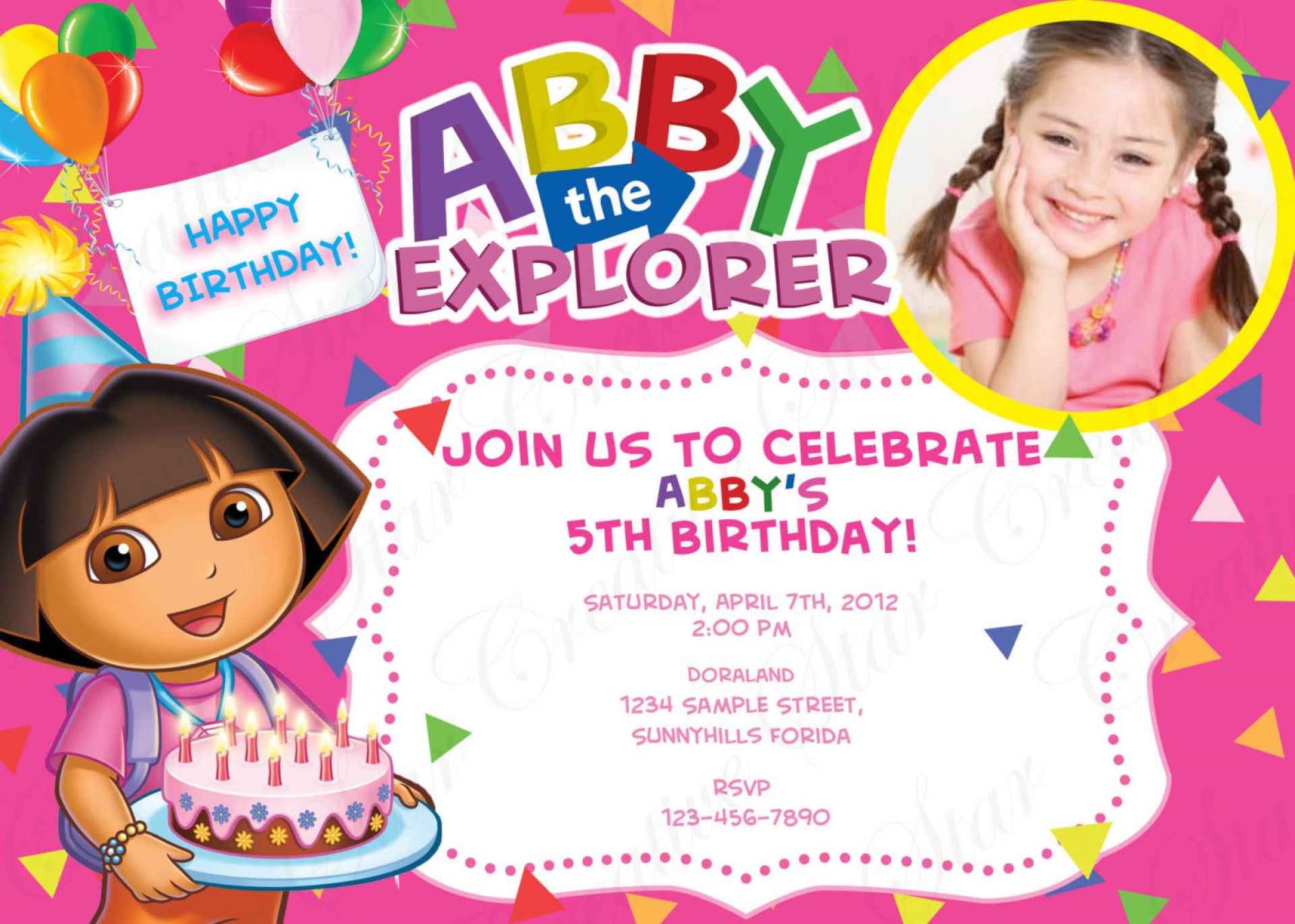 Custom Birthday Invitations Canada