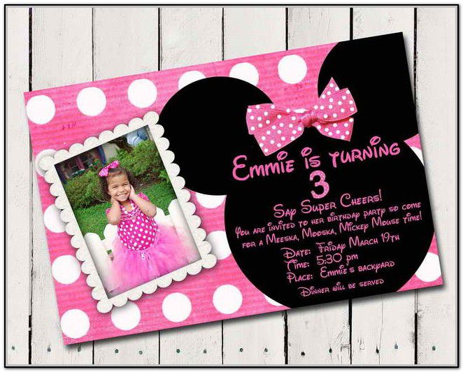 Custom Birthday Invitations Cheap