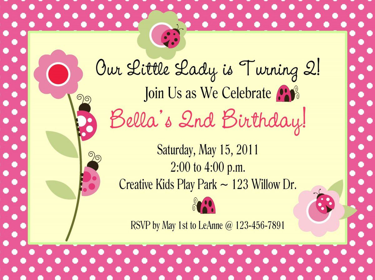 Design Your Own Birthday Invitations Free