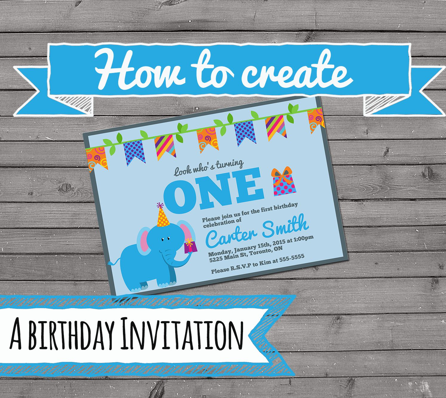 Design Your Own Birthday Invitations Online Free