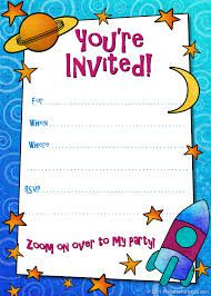 Design Your Own Birthday Invitations To Print