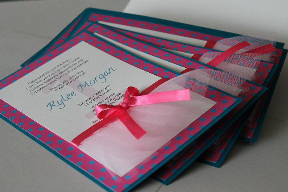 Diy Birthday Invitations Australia