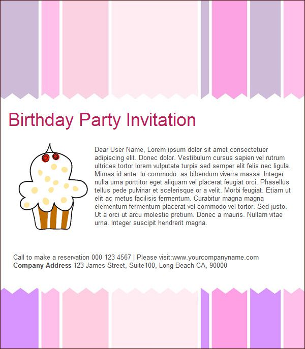Electronic Birthday Invitations Australia