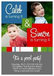 Joint Birthday Invitations Online