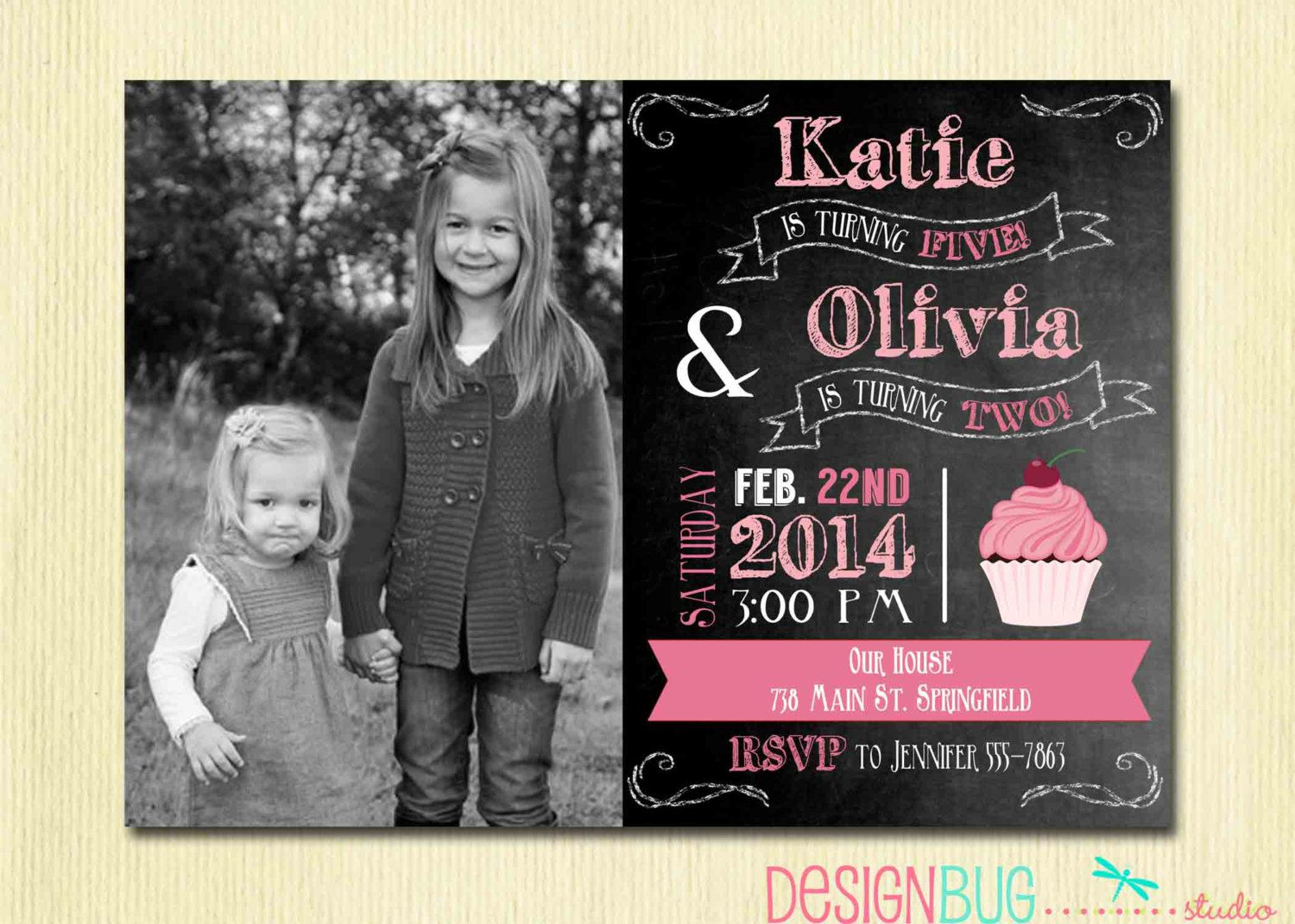 Joint Birthday Invitations Uk