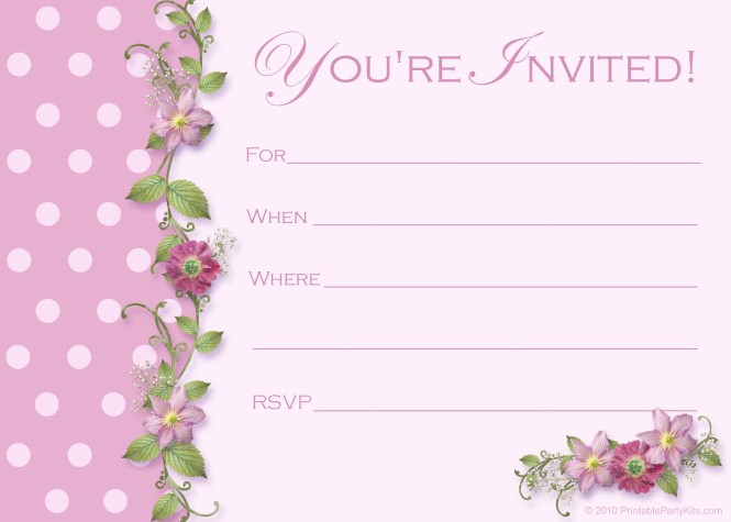 Make Birthday Invitations App