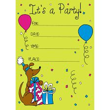Make Birthday Invitations Online Australia