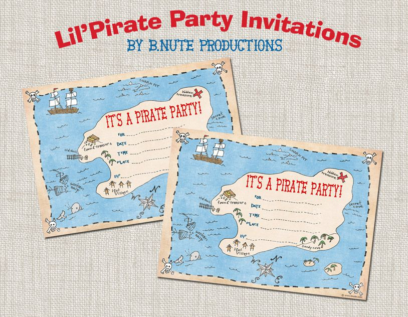Make Your Own Birthday Invitations And Print