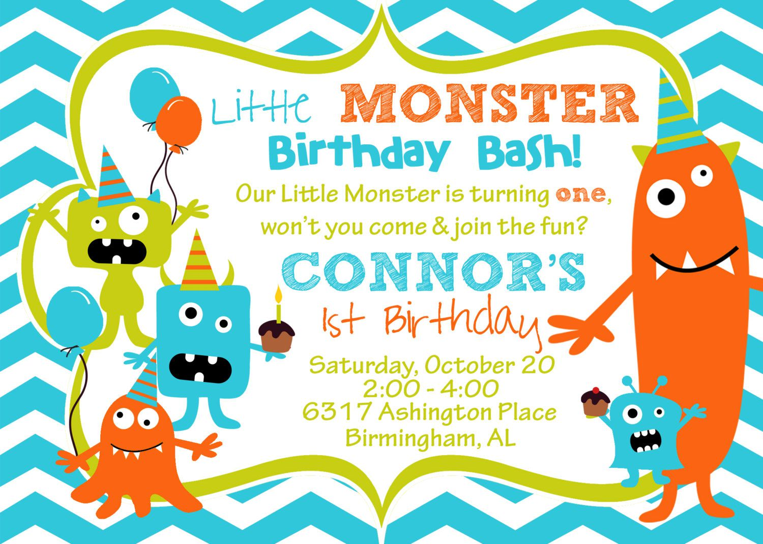 Monster High Birthday Invitations Australia