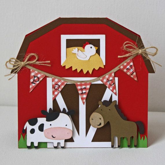 On The Farm Birthday Invitations