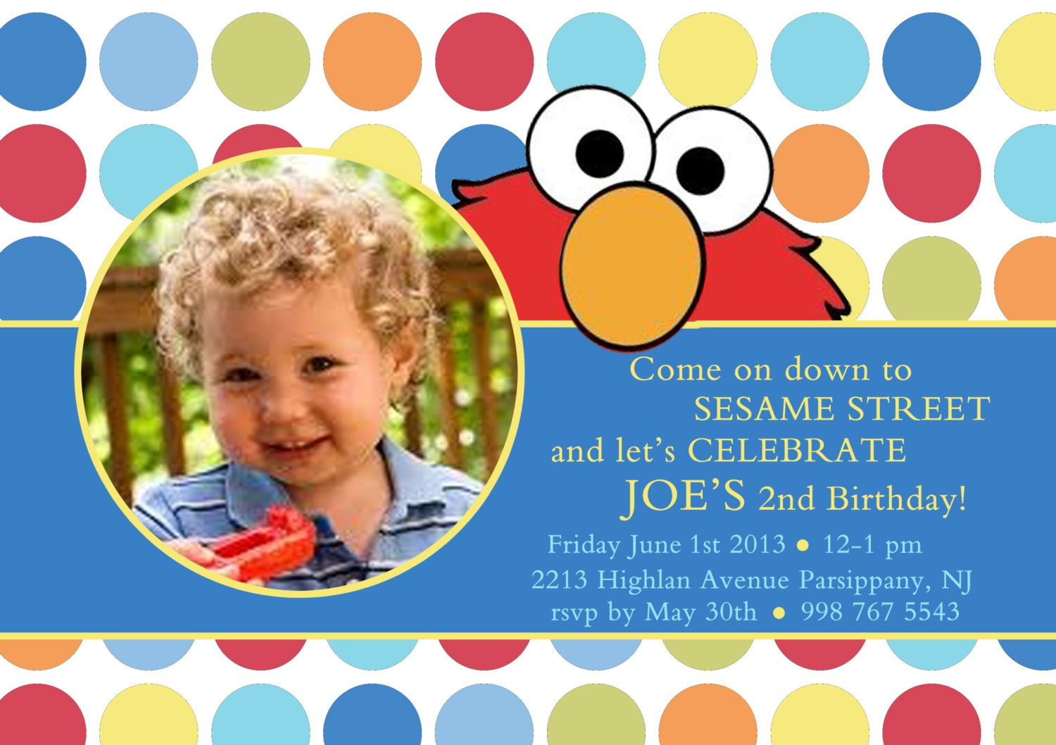 Personalized Birthday Invitations For 1st Birthday
