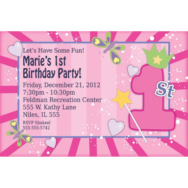 Personalized Birthday Invitations Printable