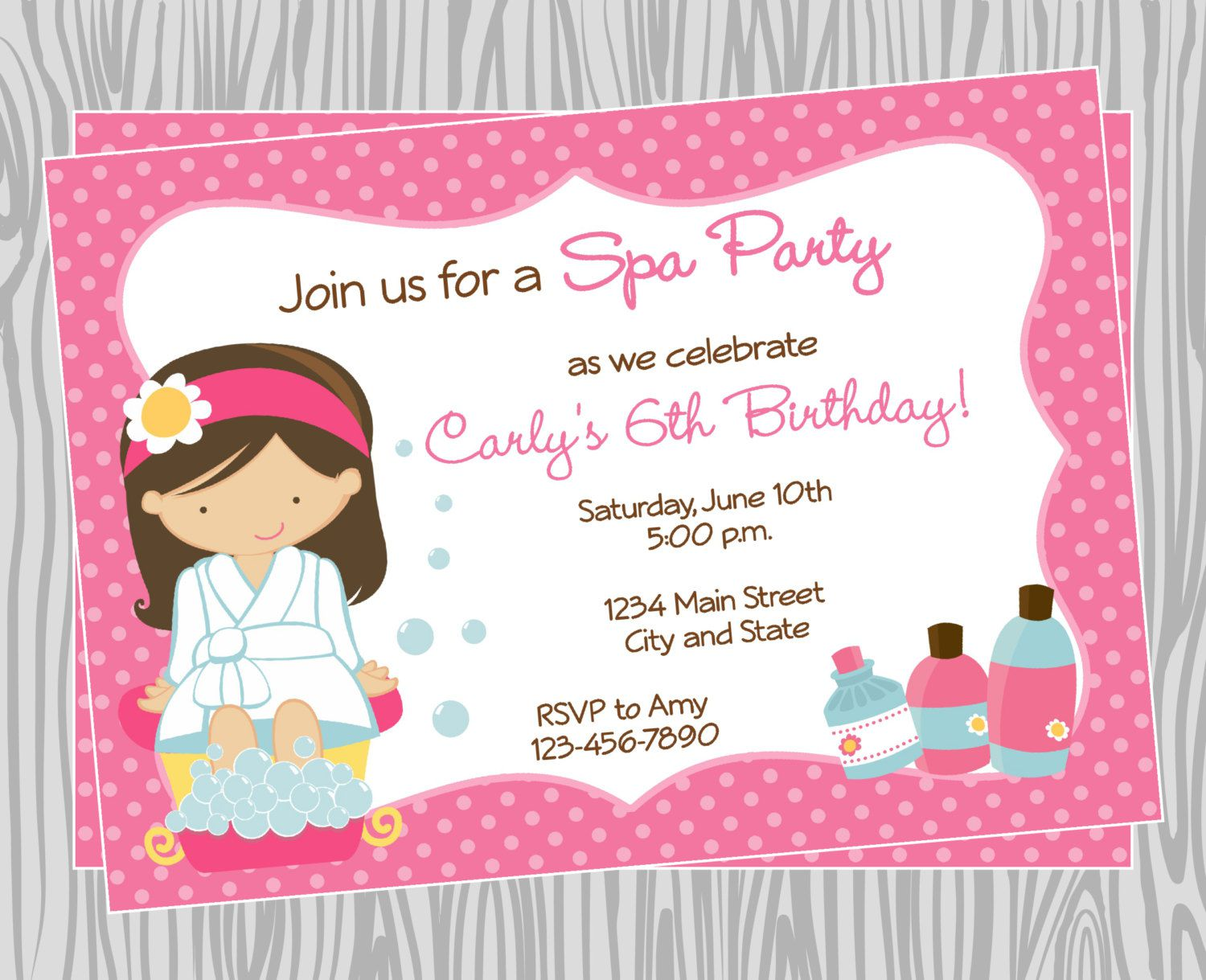 Spa Birthday Party Ideas For 11 Year Olds
