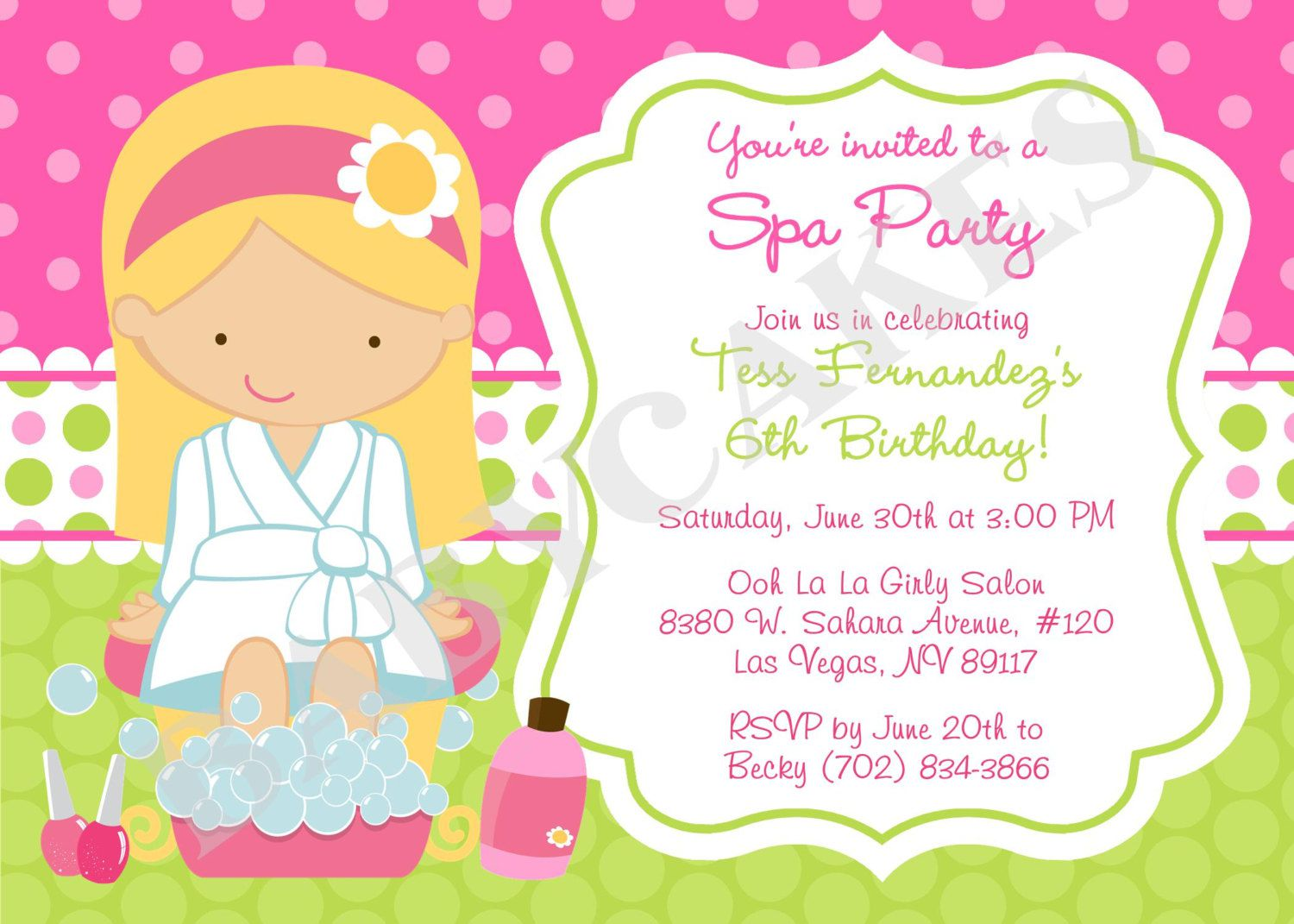 Spa Birthday Party Ideas Pinterest