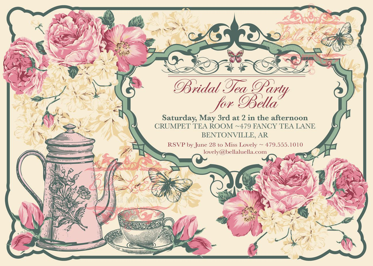 Tea Party Invitations Australia