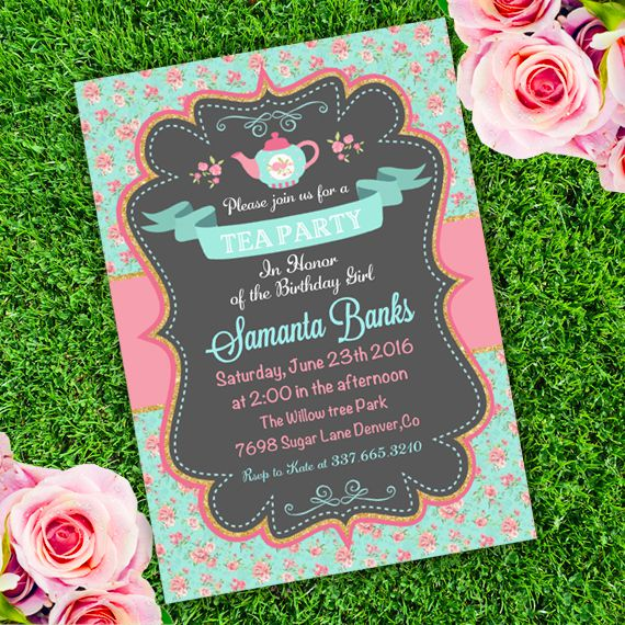 Dress Up Tea Party Birthday Invitations,mad Hatter Tea Party Birthday Invitation Wording,wording For Tea Party Birthday Invitation,birthday Tea Party Invitations For Adults
