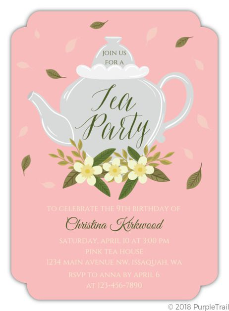 Tea Party 1st Birthday Invitations,tea Party Birthday Invitations Free,tea Party First Birthday Invitations,tea Party Girl Invitation